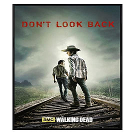 The Walking Dead Gloss Black Framed Don't Look Back Maxi Poster 61x91.5cm Posters