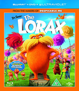 Dr Seuss The Lorax Triple Play (Blu-ray 3D + Blu-ray + DVD) Blu-ray