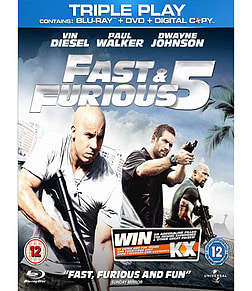 Fast And Furious 5 Triple Play Blu-ray
