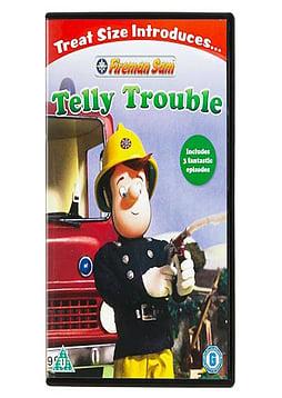 Fireman Sam Telly Trouble DVD