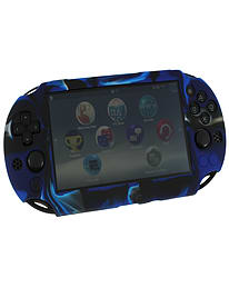 ZedLabz SC-1 soft silicone skin protector gel cover bumper case for Sony PS Vita 2000 Slim - camo bl PS Vita