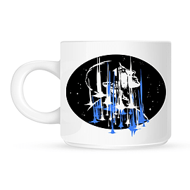 Spock Beam Me Up White Mug Home - Tableware