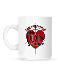 I Am The Future Mrs Jon Snow White Mug Home - Tableware