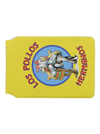 Breaking Bad Los Pollos Yellow Card Holder Traditional Games