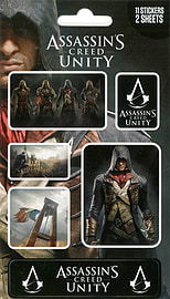 Assassin's Creed Unity Sticker Pack 10x17cm Posters