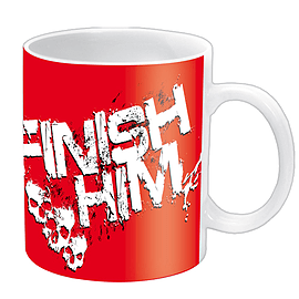 Mortal Kombat Finish Him Mug Home - Tableware