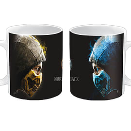 Mortal Kombat Face-Off Mug Home - Tableware