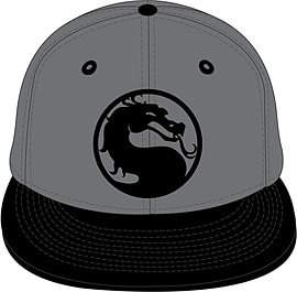Mortal Kombat Logo Cap Clothing