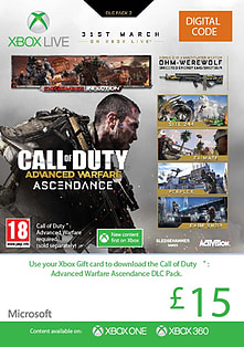 Call of Duty: Advanced Warfare Ascendance Xbox Live Cover Art