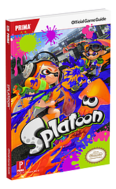 Splatoon Official Strategy Guide Strategy Guides and Books