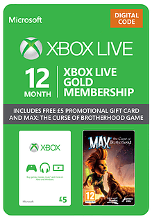 Xbox Live 12 Month Gold Starter Pack XBOX ONE