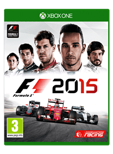 F1 2015 XBOX ONE Cover Art