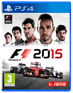 F1 2015 Including Metal Case & Guidebook – Only At GAME PS4