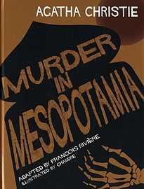Murder in Mesopotamia (Agatha Christie Comic Strip) (Hardcover) Books