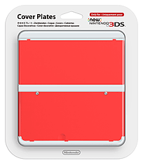 New 3DS Cover Plate - Red 3DS
