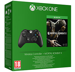 Xbox One Wireless Controller with Mortal Kombat X Full Game Download - Only at GAME Accessories
