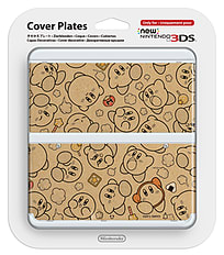 New 3DS Cover Plate - Kirby 3DS
