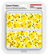 New 3DS Cover Plate - Pikachu 3DS