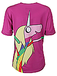 Mr Gugu & Miss Go Adventure Time Lady Rainicorn Purple Womens T-shirt Skinny Fit Extra Large (14-16) screen shot 1