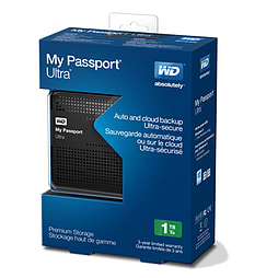 My Passport Ultra 1TB - Black Accessories