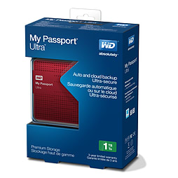 My Passport Ultra 1TB - Red Accessories