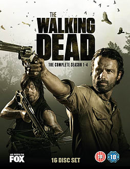 The Walking Dead: Seasons 1-4 DVD