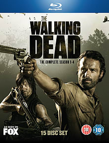 The Walking Dead: Seasons 1-4 Blu Ray Blu-ray