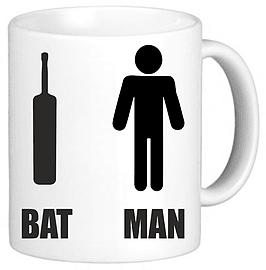 Bat Man Superhero Funny Novelty Mug Cup Gift Home - Tableware