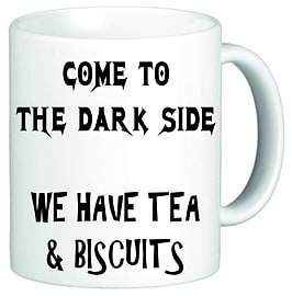 Come To The Darkside Funny Novelty Mug Cup Gift Home - Tableware