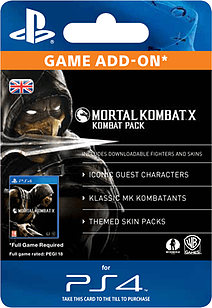 Mortal Kombat X: Kombat Pack PlayStation Network