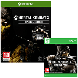 Mortal Kombat X: Special Edition with Kombat Pack - Only at GAME Xbox One