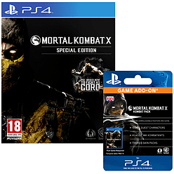 Mortal Kombat X: Special Edition with Kombat Pack - Only at GAME PlayStation 4