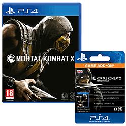 Mortal Kombat X with Kombat Pack PlayStation 4