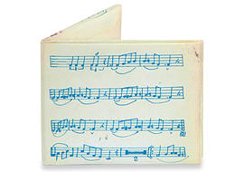 Music Sheet Mighty Wallet Tyvek, Strong Stealth Bi-Fold Wallet! Clothing