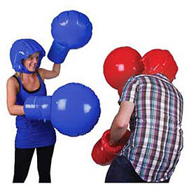 Giant Inflatable Boxing Set - Knockout Fun! Traditional Games