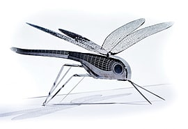 Dragonfly XL Bug Origami Stainless Steel Construction Kit Scaled Models