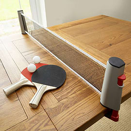 Table Tennis Set (fits most tables) Sports Team Sports