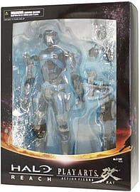 Halo Reach Square Enix Play Arts Kai Series 2 Action Figure Lieutenant Commander Kat Figurines and Sets