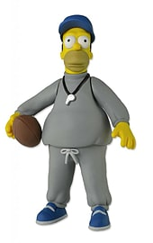 THE SIMPSONS 25TH ANNIVERSARY COACH HOMER FIGURE Figurines and Sets