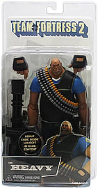 NECA 7-inch Team Fortress Ultra Deluxe Figure Series-2 Heavy Figurines and Sets