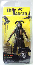 Lone Rnger - Tonto with Bird Cage Figurines and Sets