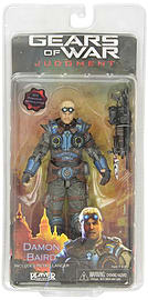 NECA 7-inch Gears of War Judgement Baird Action Figure Figurines and Sets