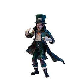 DC Direct Batman: Arkham City Series 2: Jervis Tetch - The Mad Hatter Action Figure Figurines and Sets