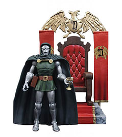 Marvel Select - Dr Doom Special Collector Edition Action Figure Figurines and Sets