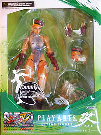 Street Fighter Iv Play Arts Kai Arcade Edition Vol.2 Action Figure 8 Limited White Ver- Cammy Figurines and Sets