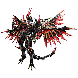 Square Enix Final Fantasy Variant Play Arts-Kai-Bahamut PVC Figure Figurines and Sets