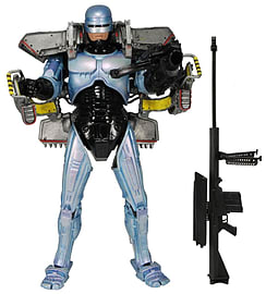 Robocop with Jetpack and Assault Cannon NECA Ultra Deluxe Action Figure Figurines and Sets
