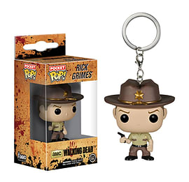 Rick Grimes The Walking Dead Pocket POP! Keychain Figurines and Sets