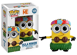 Funko POP Movies: Despicable Me 2 - Hula Minion Action Figure Figurines and Sets