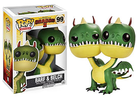 Funko POP! Movies: How To Train Your Dragon 2 - Belch and Barf Figurines and Sets